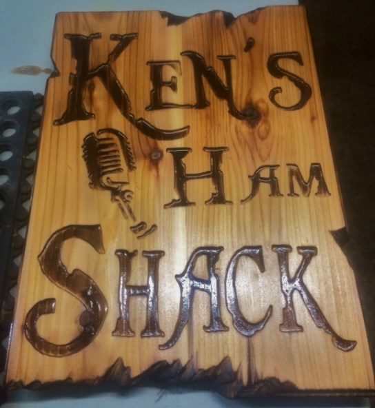 Handmade Custom Wood Burned Signs