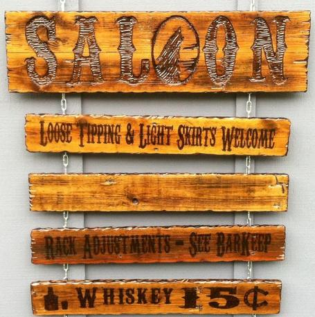 PyroSign Handmade Custom Wood Burned Signs And Made To Order Pyrography